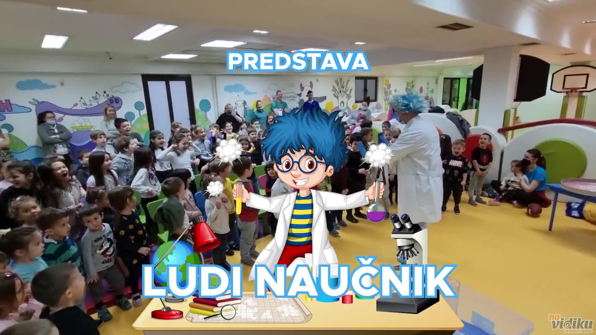 """Predstava za decu """"Ludi naučnik"""""""